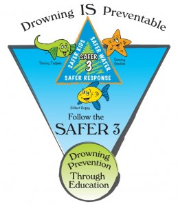 Drowning is Preventable! Follow the Safer 3 Rule